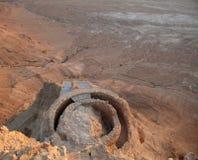 Masada Izrael Obraz Stock