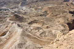 Masada, Judean  desert, Israel Stock Photo