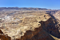 Masada, Judean  desert, Israel Royalty Free Stock Photography