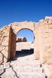 Masada - l'Israele Fotografia Stock