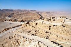 Masada - l'Israele Fotografie Stock Libere da Diritti