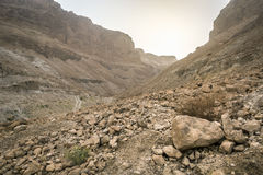 Masada National Park - ruins of famous Israeli fortress Stock Photo