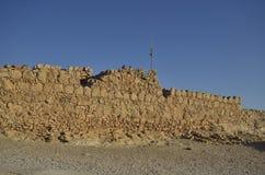 Masada nationalpark Arkivfoton