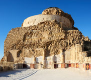 Masada, a part of the Northern Palace Royalty Free Stock Photography