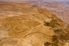 Masada - Roman's camp Royalty Free Stock Photography
