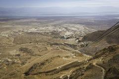 Masada Roman Siege Camps Fotografia de Stock
