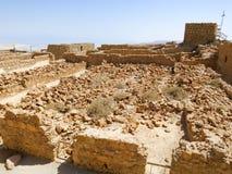 Masada Ruins Stock Photos