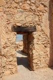 Masada ruins - Israel Stock Photo