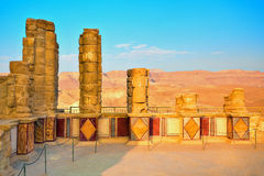 Masada royalty free stock photos