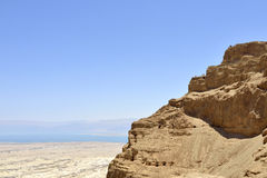 Masada stronghold. Royalty Free Stock Photo