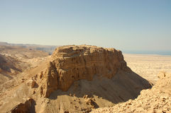 Masada stronghold, Israel. stock photography
