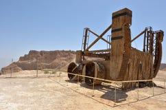 Masada stronghold - Israel Royalty Free Stock Image