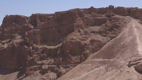 Masada stronghold - Israel stock footage
