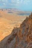 Masada. View from Masada fortress, Israel Stock Photography