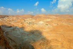 Masada. View from Masada fortress, Israel Royalty Free Stock Image