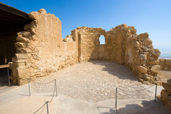 Masada w Izrael Zdjęcie Royalty Free
