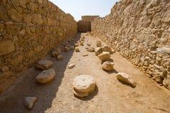 Masada w Izrael Zdjęcie Stock
