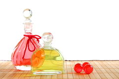 Masage oil Stock Image