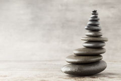 Masage stones. Royalty Free Stock Photos