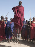 Masaiüberbrücker Stockfotografie