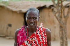 Masai-Ältestes Lizenzfreies Stockfoto