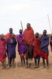 masai χορευτών Στοκ Εικόνες