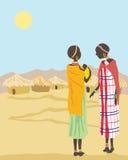γυναίκες masai Στοκ Εικόνες