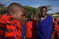 Masai. Royalty Free Stock Photos