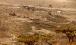 Masai Boma (pueblo) Imagen de archivo