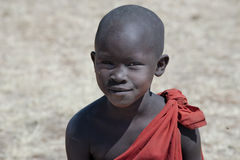 Masai boy Stock Photo