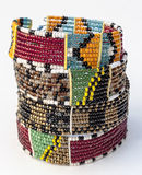 Masai bracelet colors Royalty Free Stock Photography