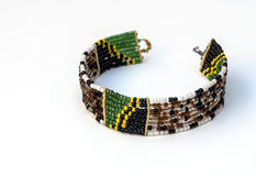 Masai bransoletki kolory Obrazy Stock