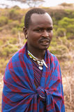 Masai chief warrior Stock Photos