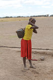 Masai child Royalty Free Stock Photo