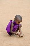 Masai child Royalty Free Stock Image