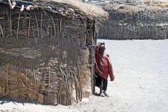 Masai child Stock Photography