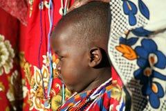 Masai Child (Kenya) Stock Photo
