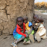 Masai children Royalty Free Stock Photography