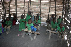 Masai children Stock Photos