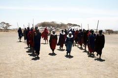 Masai dance Stock Photography