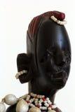 Masai della statua Fotografie Stock Libere da Diritti