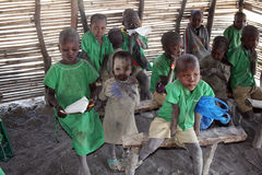 Masai education Stock Photography
