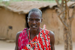 Masai Elder Royalty Free Stock Photo