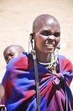 Masai kobieta Zdjęcia Royalty Free