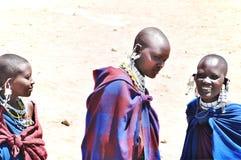 Masai kobieta Obrazy Stock