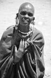 Masai kobieta Fotografia Royalty Free
