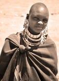 Masai kobieta Zdjęcie Royalty Free