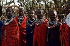 masai kobiety Obraz Royalty Free