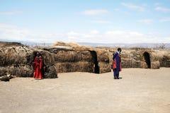 Masai life Stock Photography