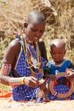 Masai ludzie Fotografia Stock